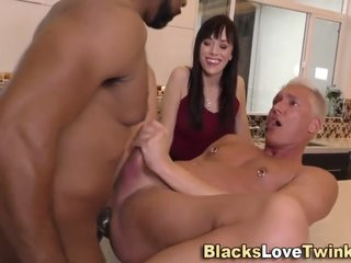 Hung ebony hung bangs white ass and sperms