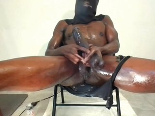 Hot Guy Talking Dirty Stroking Bbc Wet And Sloppy..huge Cumload I Love Jacking My Big Black Dick!!