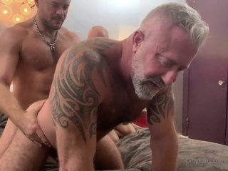 Three Daddies fucking