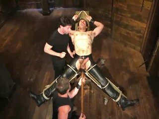 Dale Cooper Hot Leather Stud With A Fat Cock Gets Edged