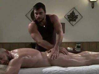 Gay Massage , Oil Handjob