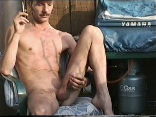 Crazy Amateur Gay clip with  Solo Male,  Outdoor scenes