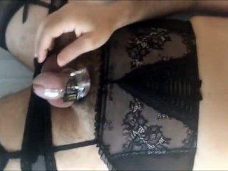 Amazing Amateur Gay video with  Masturbation,  Fetish scenes