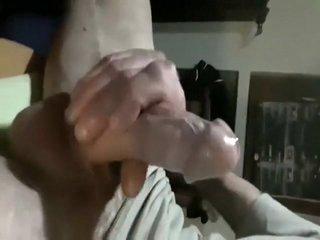 Hottest amateur gay scene with Masturbation scenes