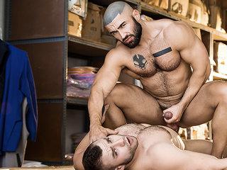 Diego Reyes & Francois Sagat in Heart's Desire - GodsOfMen