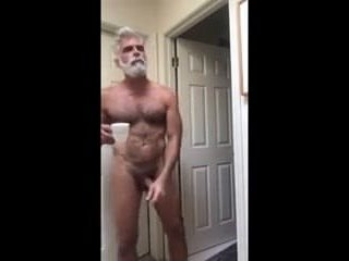 HANDSOME MATURE HOME ALONE