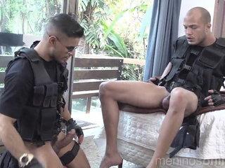 SWAT Horny Cops - Richard & Kadu