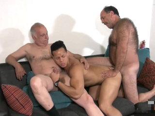 Two Daddies + Hunk