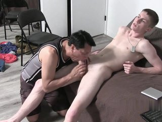 Hunk Blown, Licked And Worshiped