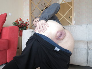 Mr BigHOLE Big Ass Gay Escort Gaped Destroyed by 12 Inch King Cock