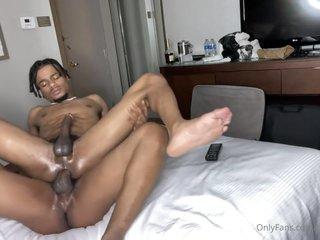 Black Bare Couple Twinks Gay Porn
