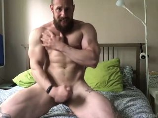 Russian Bodybuilder Horny