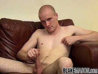Adorable Brit Amateur Jerks Off And Cums