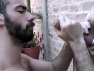 Hairy guy gets fucked