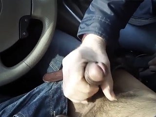 Exotic gay clip with Masturbation, Outdoor scenes