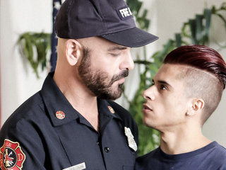 Armond Rizzo & Adam Russo in Fireman fantasies  - IconMale