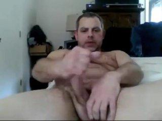 Horny gay scene with Handjob, Daddy scenes