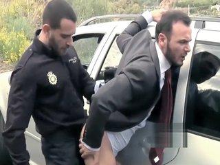 Policeman barebacks Businessman
