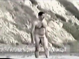 Vintage Monster on Nude Beach