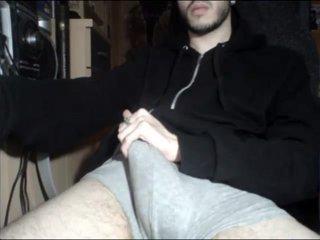 Jerking Hot Big Cock On Cam