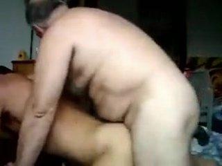 Daddy bear barebacking