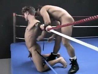 Retro Hog Tied Wrestling
