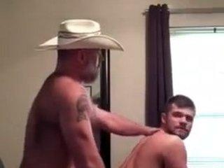 Cowboy Daddy Fucks Slutty Son