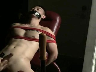 Chinese slave cum and piss