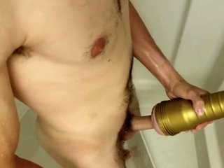 Shower fun with my Fleshlight